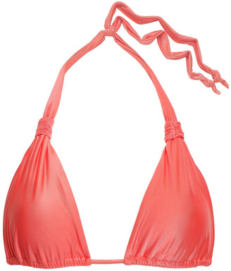 Vix Paula Hermanny Knotted Triangle Bikini Top