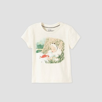 Disney Toddler Girls' Alice in Wonderland Short Sleeve Graphic T-Shirt Store