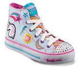 Skechers Twinkle Toes Shuffles Twist Girls' Light-Up Sneakers