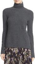 A.L.C. Pippa Surplice Back Wool & Cashmere Turtleneck Sweater