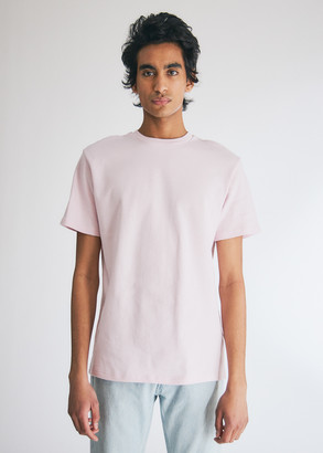 Séfr Men's Clin T-Shirt in Light Lilac, Size Small | 100% Cotton