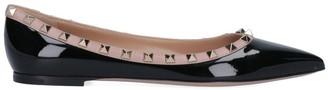 Valentino Rockstud Flat Shoes