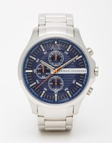 Armani Exchange Stainless Steel Watch Ax2155 - Silver
