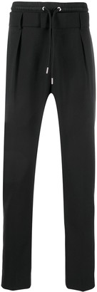 Les Hommes High-Waisted Tapered Trousers