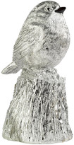 Pols Potten Whistling Bird Ornament - Silver