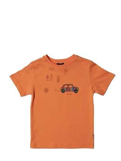 Paul Smith Cotton Jersey Printed T-Shirt