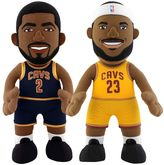 Bleacher Creatures Cleveland Cavaliers Dynamic Duos Kyrie Irving & LeBron James Plush Figure Set