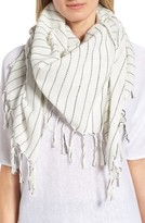 Eileen Fisher Women's Stripe Organic Cotton Scarf