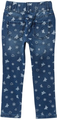 Flapdoodles Allover Print Jeggings (Toddler & Little Girls)