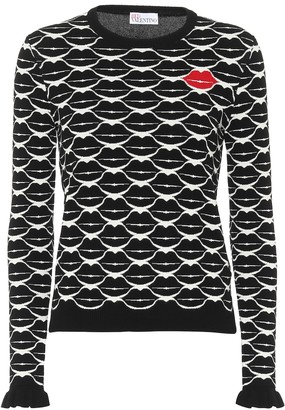 RED Valentino Lips sweater