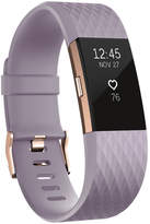 Fitbit Charge 2 heart rate + fitness wristband Special Edition Lavender Rose Gold - Large