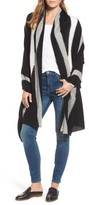White + Warren Women's Travel Intarsia Cashmere Wrap