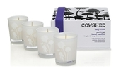Cowshed Lazy Cow Soothing Travel Candles 4 x 38g