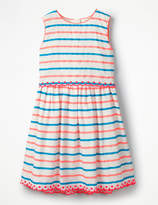Boden Stripy Organza Dress