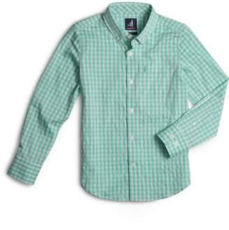 johnnie-O Chet Gingham Button-Down Shirt