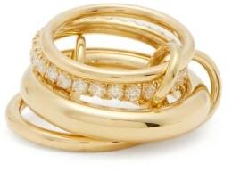 Spinelli Kilcollin Luna 18kt Gold & Diamond Ring - Womens - Gold