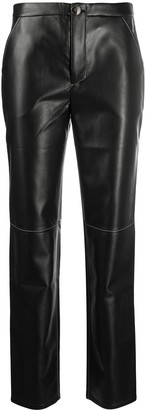 Áeron Faux Leather Trousers