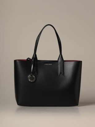Emporio Armani Tote Bags Bag In Synthetic Leather