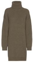 Balenciaga Wool-blend Turtleneck Sweater Dress