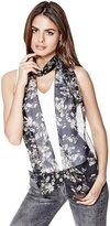 GUESS Luxe Gardens Skinny Scarf
