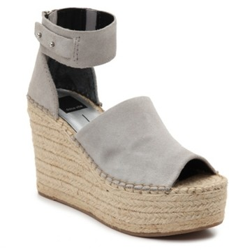 Dolce Vita Straw Espadrille Wedge Sandal
