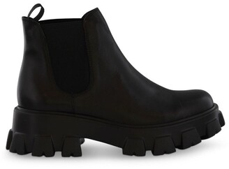 Tony Bianco Stomp Black Como Ankle Boots