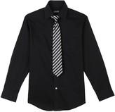 Chaps Boys 4-18 Shirt & Tie Set
