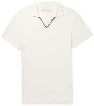 Orlebar Brown Marden Cotton-Pique Polo Shirt