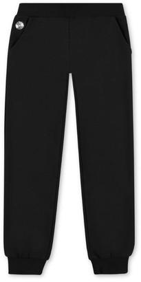 Philipp Plein Junior Logo Badge Sweatpants (4-16 Years)