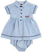 Armani Junior Linen Dress & Diaper Cover