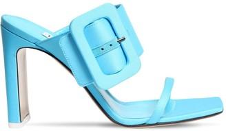 ATTICO 95mm Satin Sandals