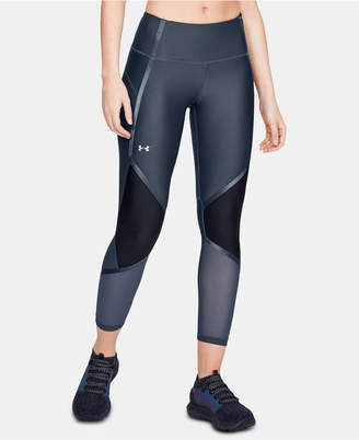 Under Armour Shine HeatGear Colorblocked Compression Leggings