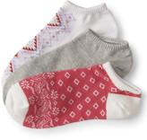 3-Pack Paisley, Solid & Geo Ankle Socks