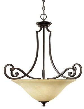 Fleur De Lis Living Hyde Park 3 Light Single Bowl Pendant Shopstyle Ceiling Lighting