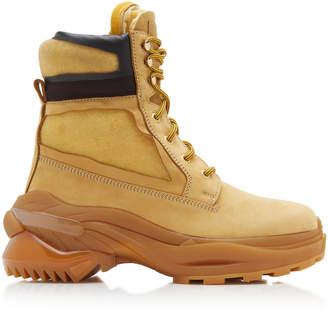 Maison Margiela Union Leather Boots Size: 40