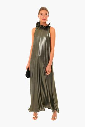 Metallic Blythe Gown