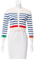 Lisa Perry Striped Wool Cardigan