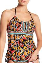 Nanette Lepore Mozambique Honey Tankini Top