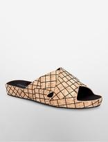Calvin Klein Maleena Cork Slide Sandal