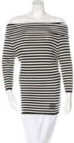 Celine Cashmere Striped Top