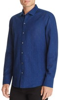 Zachary Prell Dot Print Regular Fit Button-Down Shirt