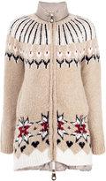 Twin-Set high neck puffer jacket - women - Feather Down/Acrylic/Polyamide/Alpaca - S