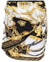 Versace Printed miniskirt