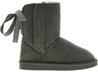 Lamo Casual boots Grey - Gray Lace-Up Back Boot - Kids