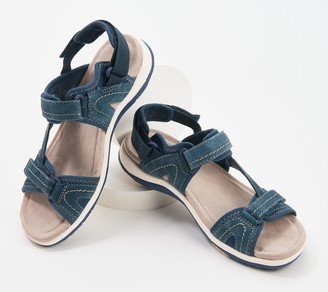 Earth Origins Suede Sport Sandals - Savoy Stevie