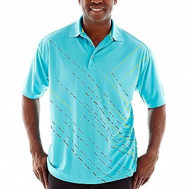 PGA TOUR® Slash-Printed Polo-Big & Tall