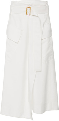 Vince Belted Cady Utility Skirt