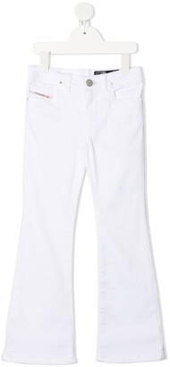 Diesel Low-Rise Flared Trousers