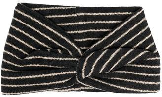 Zhoe & Tobiah Knot Detail Striped Top