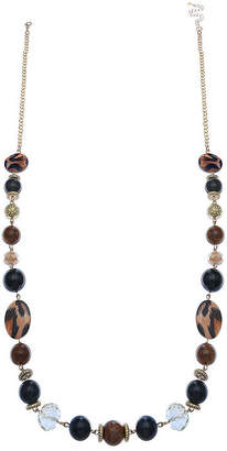 Mixit Long Beaded Necklace